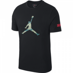 AIR JORDAN CITY OF FLIGHT 2 BLACK T-SHIRTS