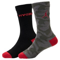 Jordan 5 Camo Crew Socks 2 Pack Kids