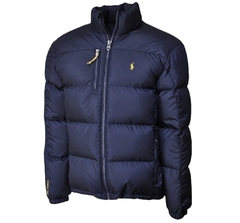 "POLO RALPH LAUREN PUFFER RL250 ""NAVY/YELLOW"" JACKET - MEN'S - comprar online"
