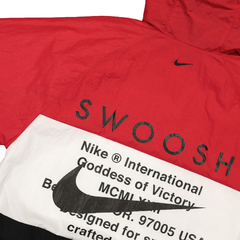 Nike NSW Swoosh Jacket HD Woven Red - comprar online
