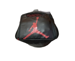 Air Jordan Jumpman Ele Print Duffel Gym Bag Black/Grey - LoDeJim