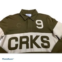 Crooks & Castles Selector Long Sleeve Rugby Military - comprar online