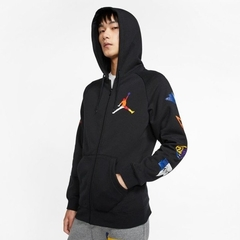 "JORDAN DNA JUMPMAN ""RIVALS"" HOODIE JACKET BLACK - MEN'S en internet"