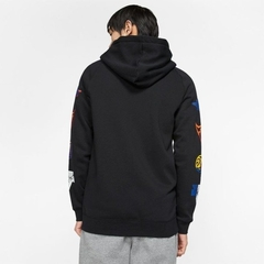 "JORDAN DNA JUMPMAN ""RIVALS"" HOODIE JACKET BLACK - MEN'S - LoDeJim"