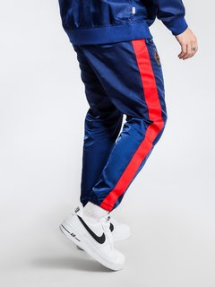 "NIKE NSW NSP WOVEN PANTS ""BLUE/RED"" - MEN'S - LoDeJim"