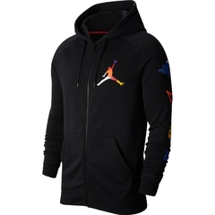 "JORDAN DNA JUMPMAN ""RIVALS"" HOODIE JACKET BLACK - MEN'S"