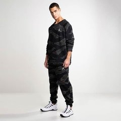 CONJUNTO AIR JORDAN JUMPMAN AIR CAMO FLEECE BLACK
