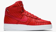 "Nike Air Force 1 ""Woven Gym Red"" - Men's"