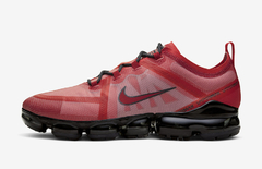 Nike Air VaporMax Red and Crimson