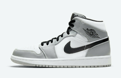 "Air Jordan 1 Mid ""Smoke Grey"" - Men's"