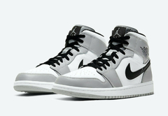 "Air Jordan 1 Mid ""Smoke Grey"" - Men's - comprar online"
