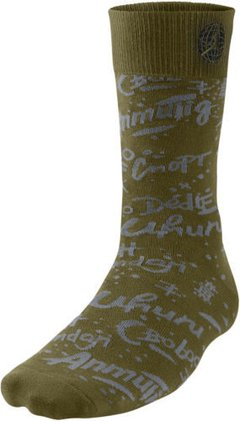 Air Jordan 9 Crew Socks Military Green