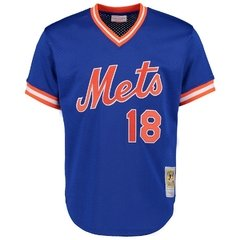 Darryl Strawberry 1986 Authentic Mesh BP Jersey New York Mets Jersey - comprar online