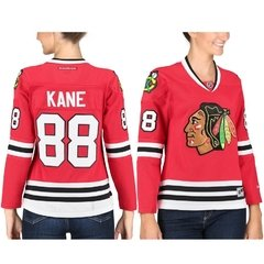 Patrick Kane Chicago Blackhawks Reebok Women's Home Premier Jersey - Red