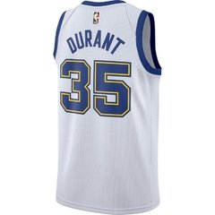 Golden State Warriors Kevin Durant Nike White Fashion Current Player Hardwood Classics Swingman Jersey en internet