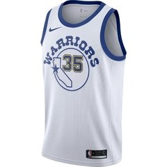 Golden State Warriors Kevin Durant Nike White Fashion Current Player Hardwood Classics Swingman Jersey - comprar online