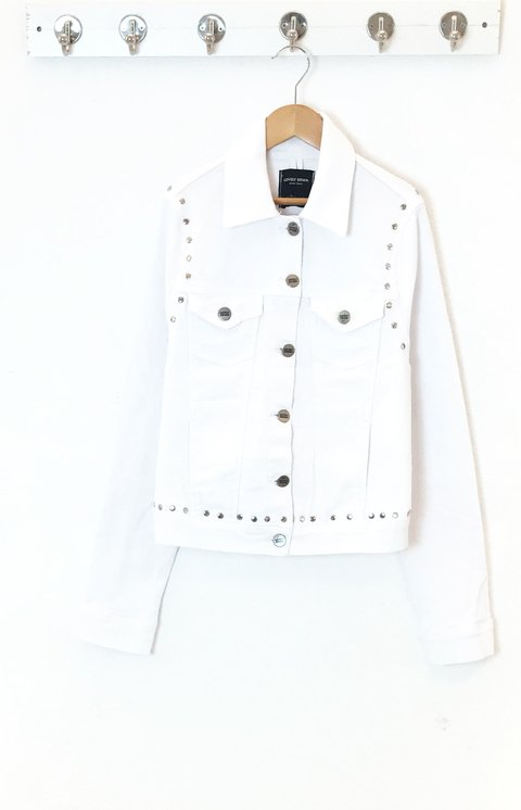 JACKET GIGI WHITE TACHAS