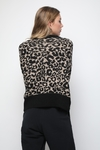 SWEATER LEOPARD - LOVELY DENIM