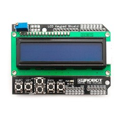 Display LCD Shield com Teclado para Arduino