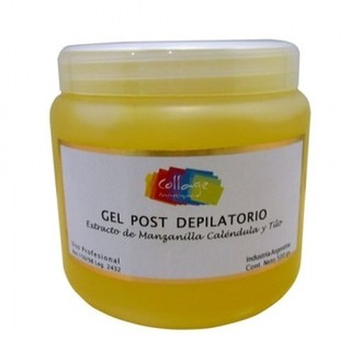 GEL DESCONGESTIVO POST DEPILATORIO MARCA COLLAGE POR 500 grs.