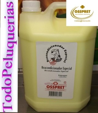 ENJUAGUE REACONDICIONADOR ESPECIAL EFECTO LACIO MARCA OSSPRET POR 1000 ml. en internet