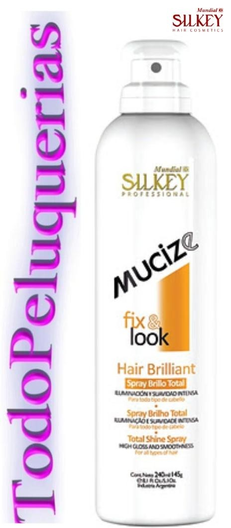 Spray Brillo Total marca SILKEY Mucize Por 240 Ml.