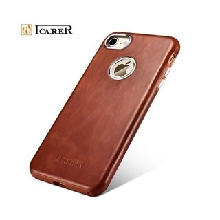Icarer* 1841-2 Capa iPhone Couro Vintage