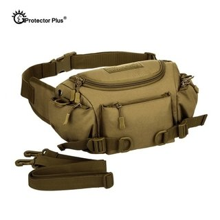 Protector Plus* 0121 Pochete Masculina Canvas Lona Militar Tactical - Simple Market