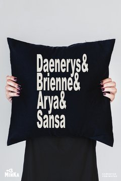Capa de Almofada Game of Thrones  - MinKa Camisetas Feministas
