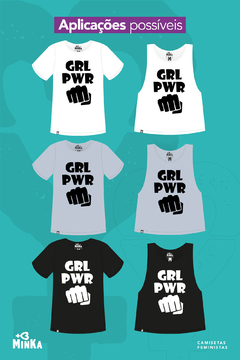Camiseta Girl Power - comprar online