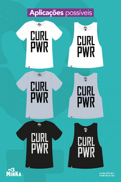 Camiseta Curl Power - comprar online