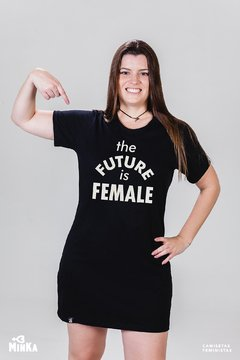 Vestido The Future is Female - MinKa Camisetas Feministas