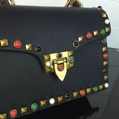 Guitar Rockstud Rolling small Cross Valentino na internet