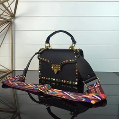 Guitar Rockstud Rolling small Cross Valentino
