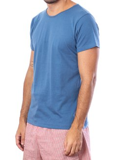 French blue T-shirt (Regular fit) - comprar online