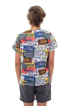 Car Plates T-Shirt na internet
