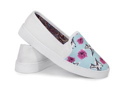 Tenis Slip On Birds and Roses - tienda online