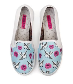 Tenis Slip On Birds and Roses - comprar online
