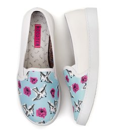 Tenis Slip On Birds and Roses en internet