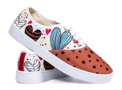 Chocolate Heart - Tenis Rooster al Horno | ZAPATOS 100% COLOMBIANOS