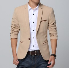 Blazer Casual Slim Fit Masculino na internet
