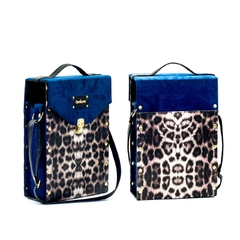 Set de Mate - ANIMAL PRINT BLUE acero Lumilagro - comprar online