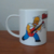 Taza Los simpson - Homero Rocks