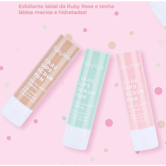 HB8526- Exfoliante labial STRAWBERRY LOVE - RUBY ROSE - comprar online