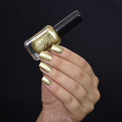 Esmalte Whatcha para stamping - Light gold satin en internet