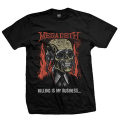 Remera Megadeth -Killing Is My Business