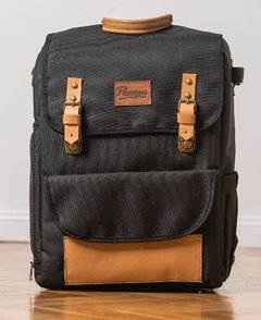Mochila Pampa Large - Camel black en internet