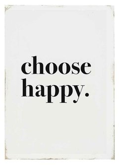 (234) CHOOSE HAPPY - tienda online