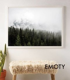 (306) BOSQUE NUBLADO - EMOTY Wall Deco