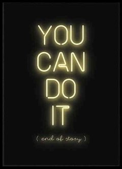 (414) YOU CAN DO IT - EMOTY Wall Deco